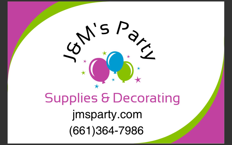 J&M's Party Supplies & Decorating
