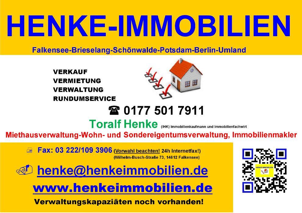 Bild zu HENKE-IMMOBILIEN in Falkensee