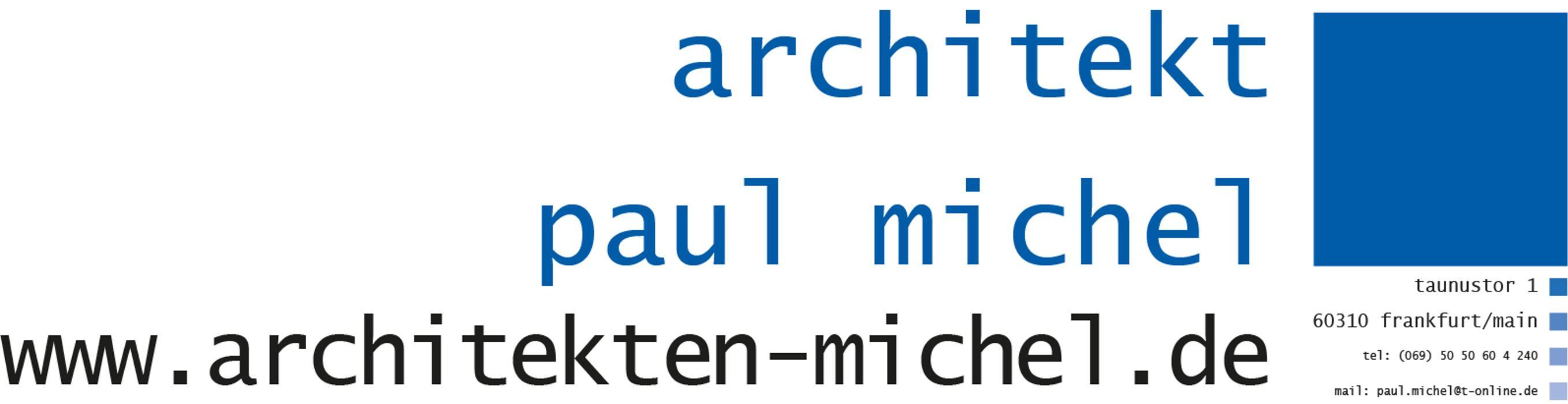 Bild zu Architekt Michel - Architekturbüro Michel in Frankfurt am Main
