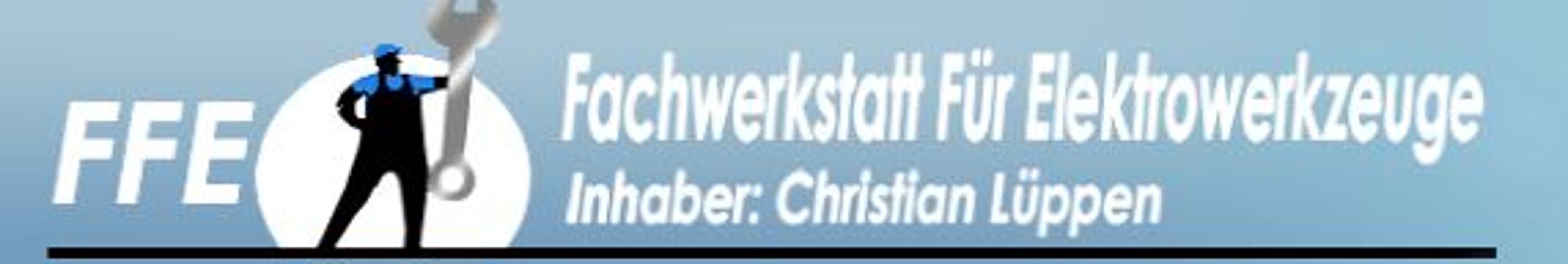 FFE-Christian Lüppen Fachwerkstatt für Elektrowerkzeuge