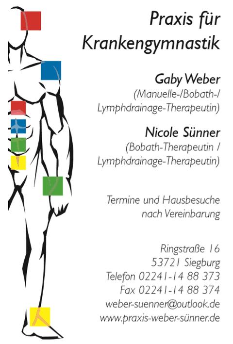 Praxis für Krankengymnastik Gaby Weber & Nicole Sünner