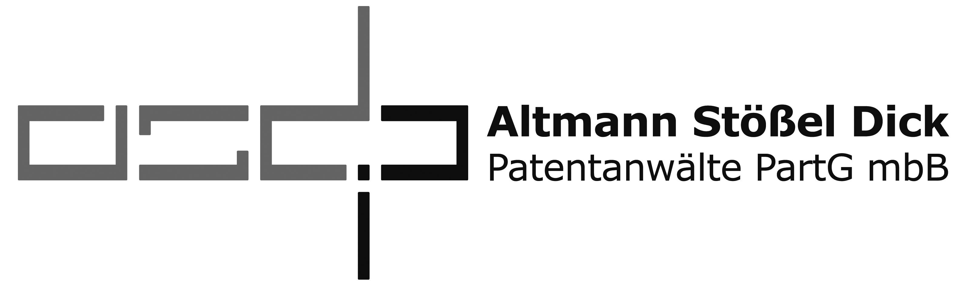 Altmann Stößel Dick Patentanwälte PartG mbB