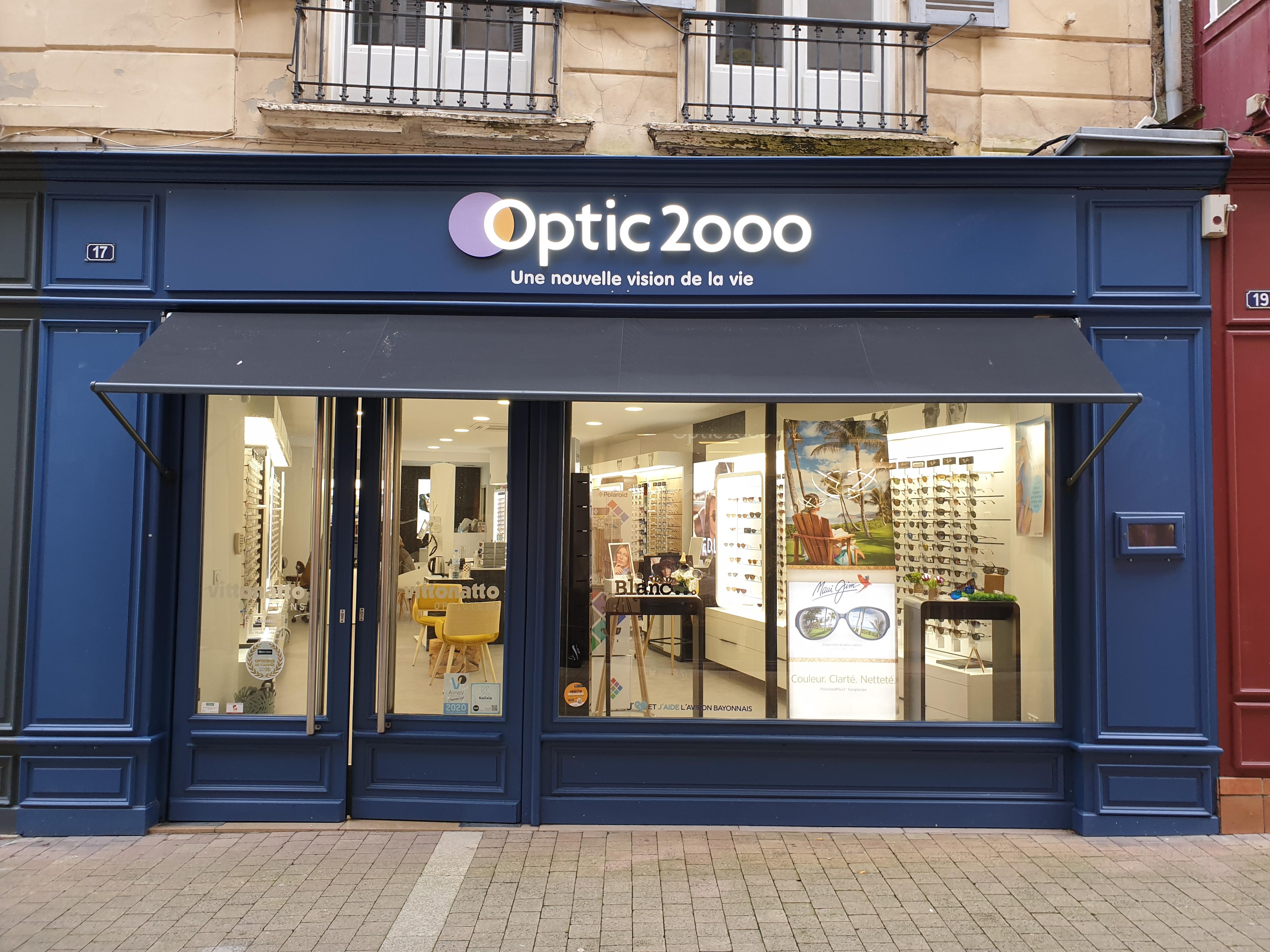 Opticien Optic 2000 Bayonne - Vittonatto - Lunettes, lunettes de soleil, lentilles