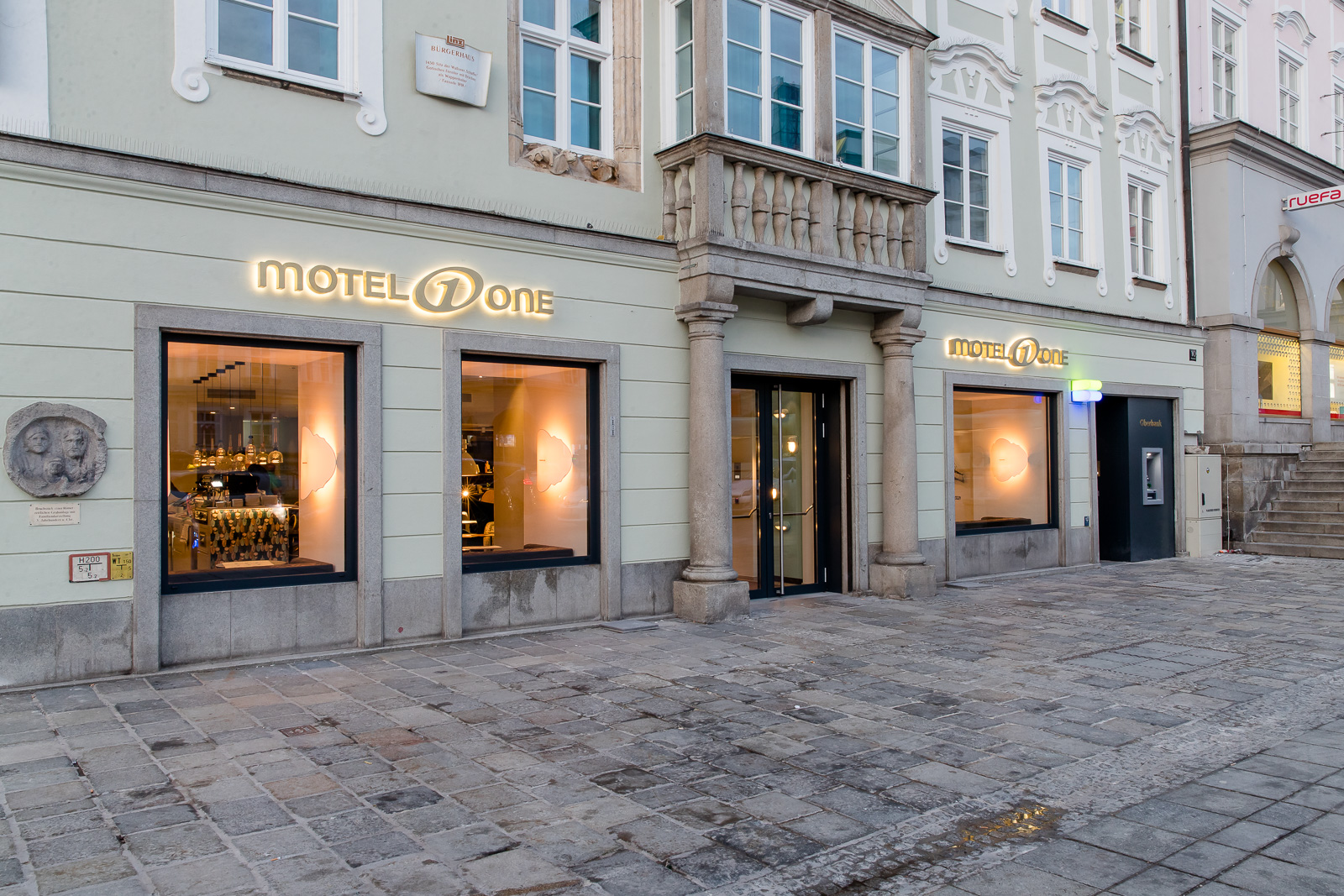 Hotel Motel One Linz-Hauptplatz
