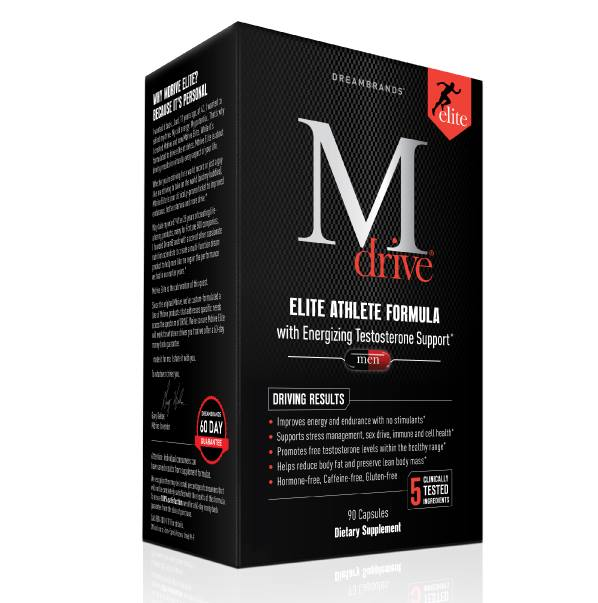 Mdrive - Natural Testosterone Support