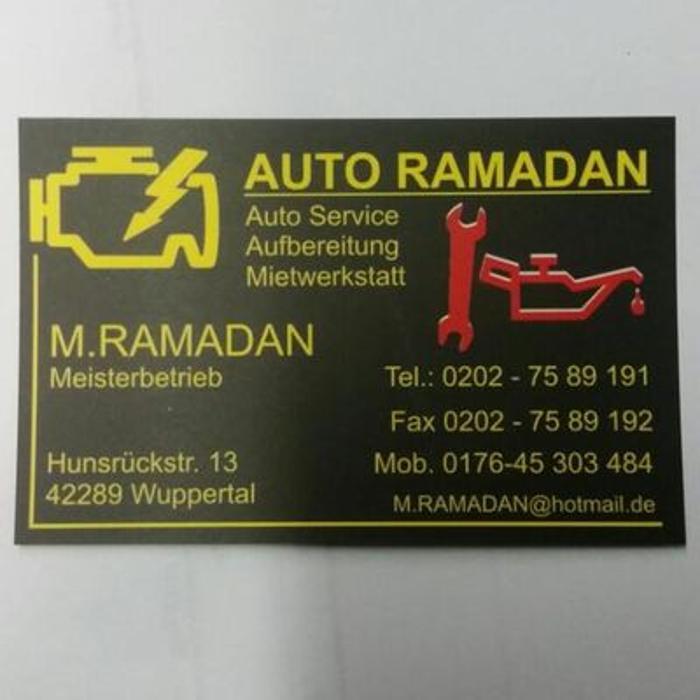 Bild zu Auto Ramadan in Wuppertal