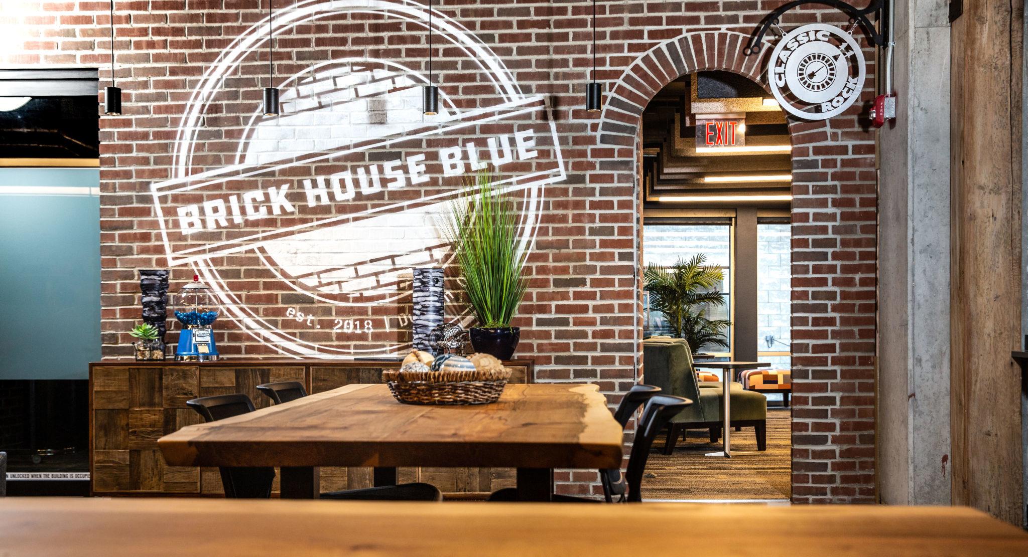 Brick House Blue