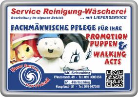 Service- Reinigung - Wäscherei