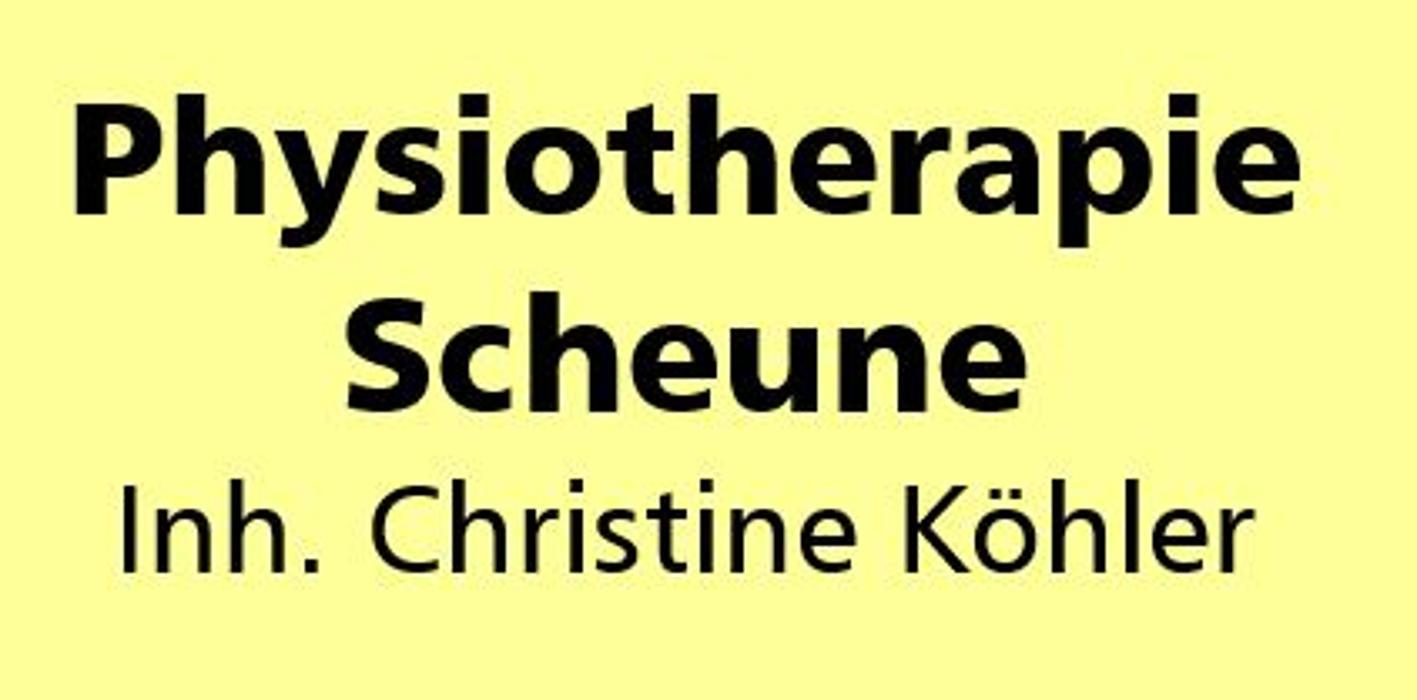Logo von Physiotherapie Scheune Inh. Christine Köhler