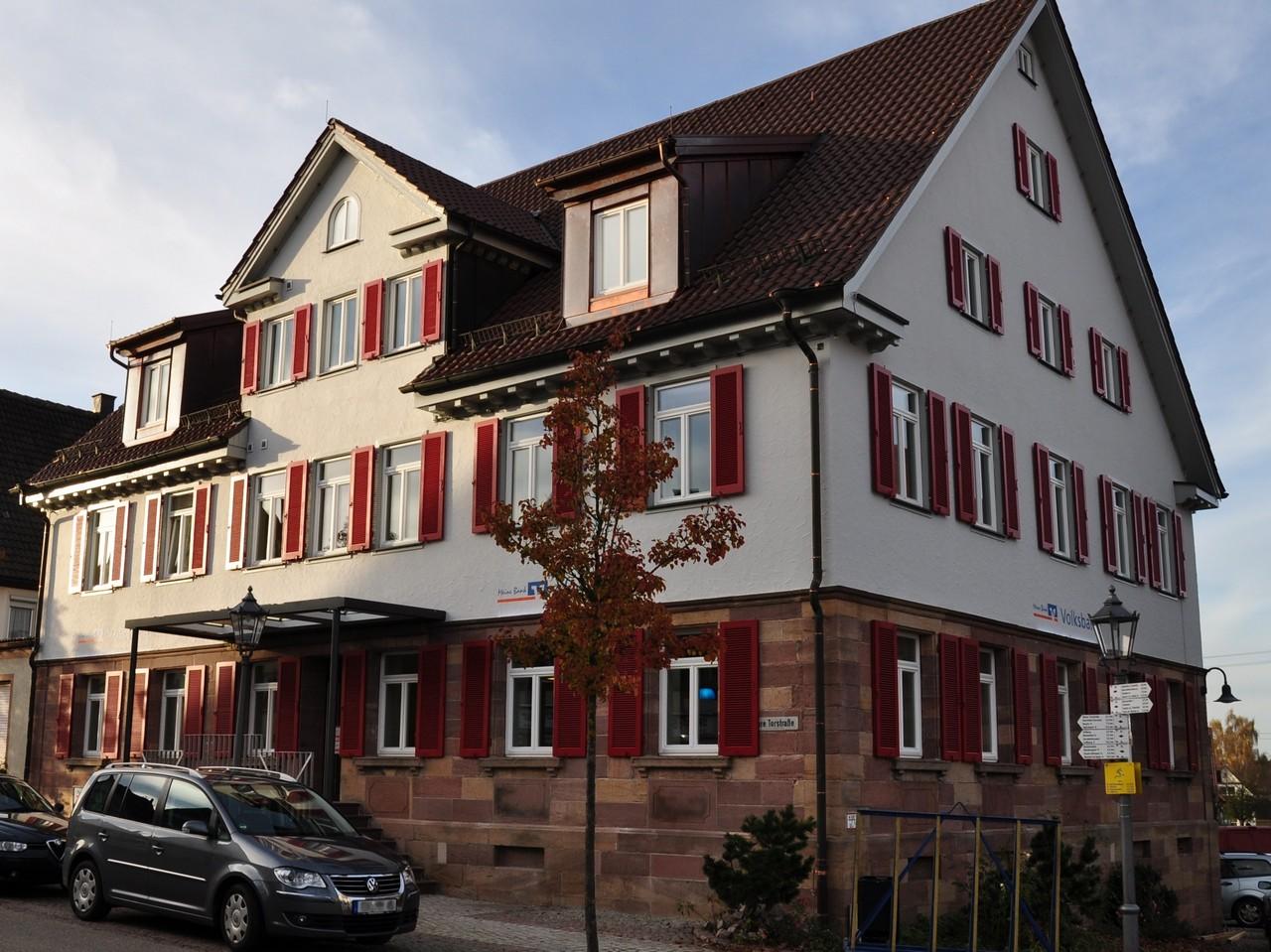 Volksbank Rottweil eG, Geschäftsstelle Dornhan