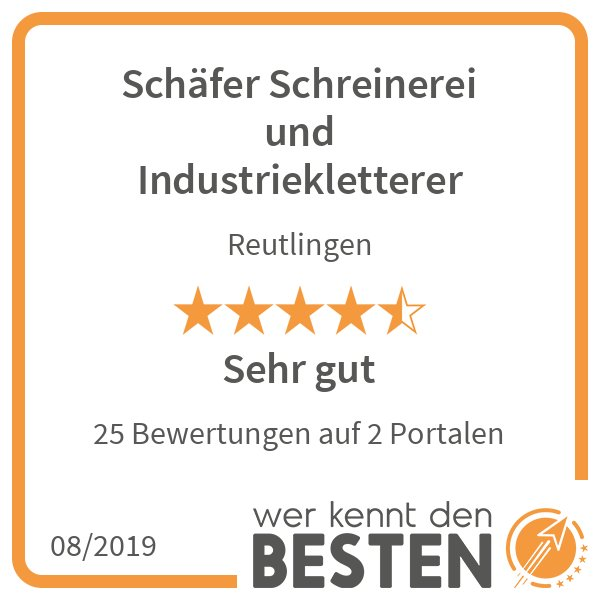 Florian Schäfer Schreinerei & Industriekletterer