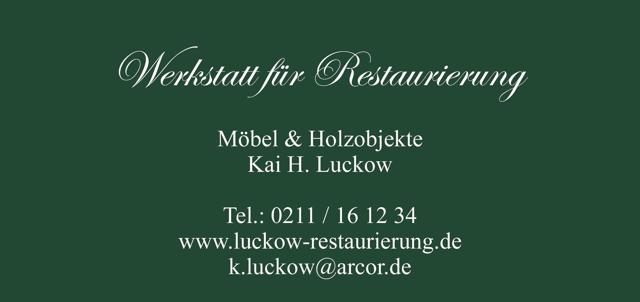 werkstatt f r restaurierung kai h luckow in d sseldorf branchenbuch deutschland. Black Bedroom Furniture Sets. Home Design Ideas