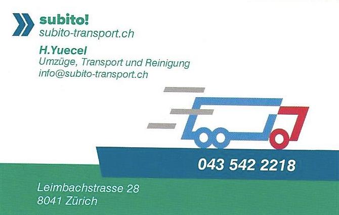 Subito Umzug, Transport und Reinigungen