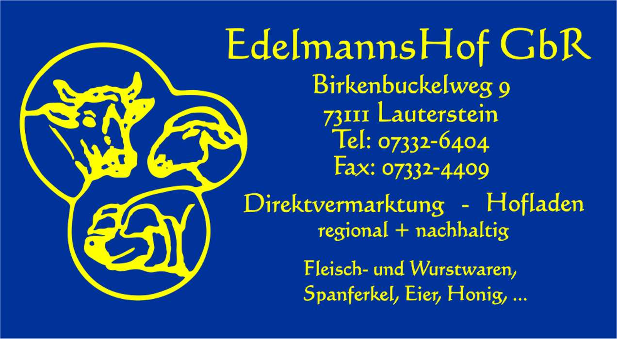 Bild zu Direktvermarktung Edelmannshof GbR in Lauterstein