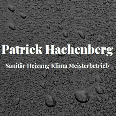 Patrick Hachenberg Sanitär Heizung Klima Meisterbetrieb
