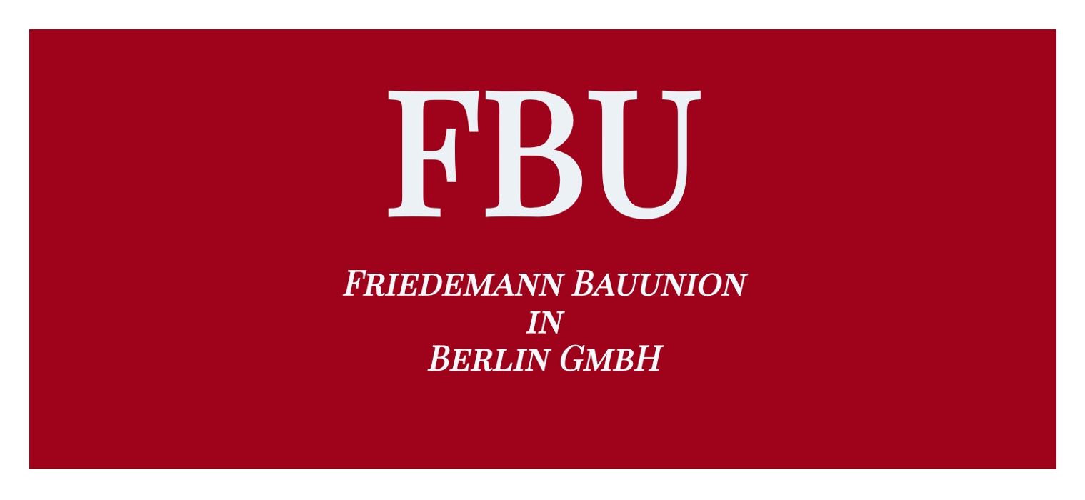 Bild zu Friedemann Bauunion in Berlin GmbH in Berlin