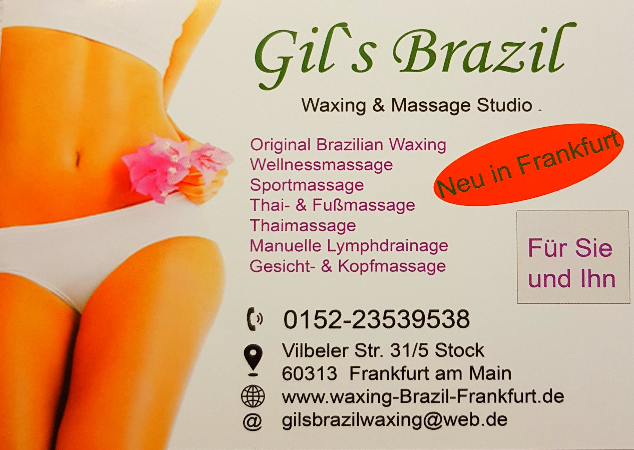 Gil's Brazil Waxing Massage Studio
