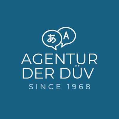 Agentur der Dolmetscher-und Übersetzervereinigung (DÜV) Logo