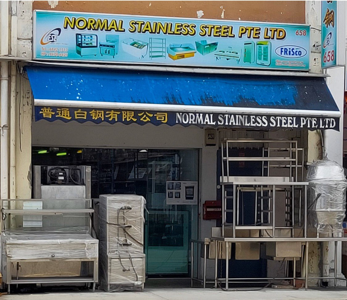 Normal Stainless Steel Pte Ltd Geylang Showroom