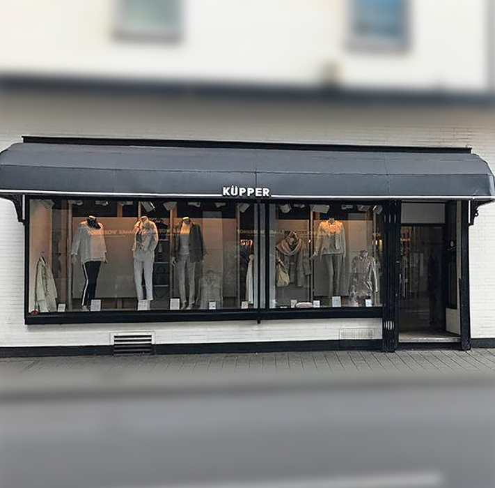 Küpper Mode & Accessoires, Tonhallenstraße in Duisburg