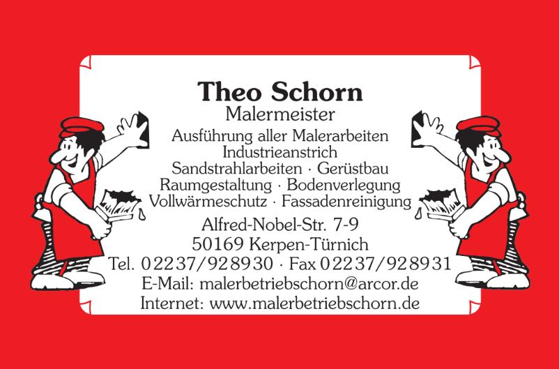 Theo Schorn Malermeister