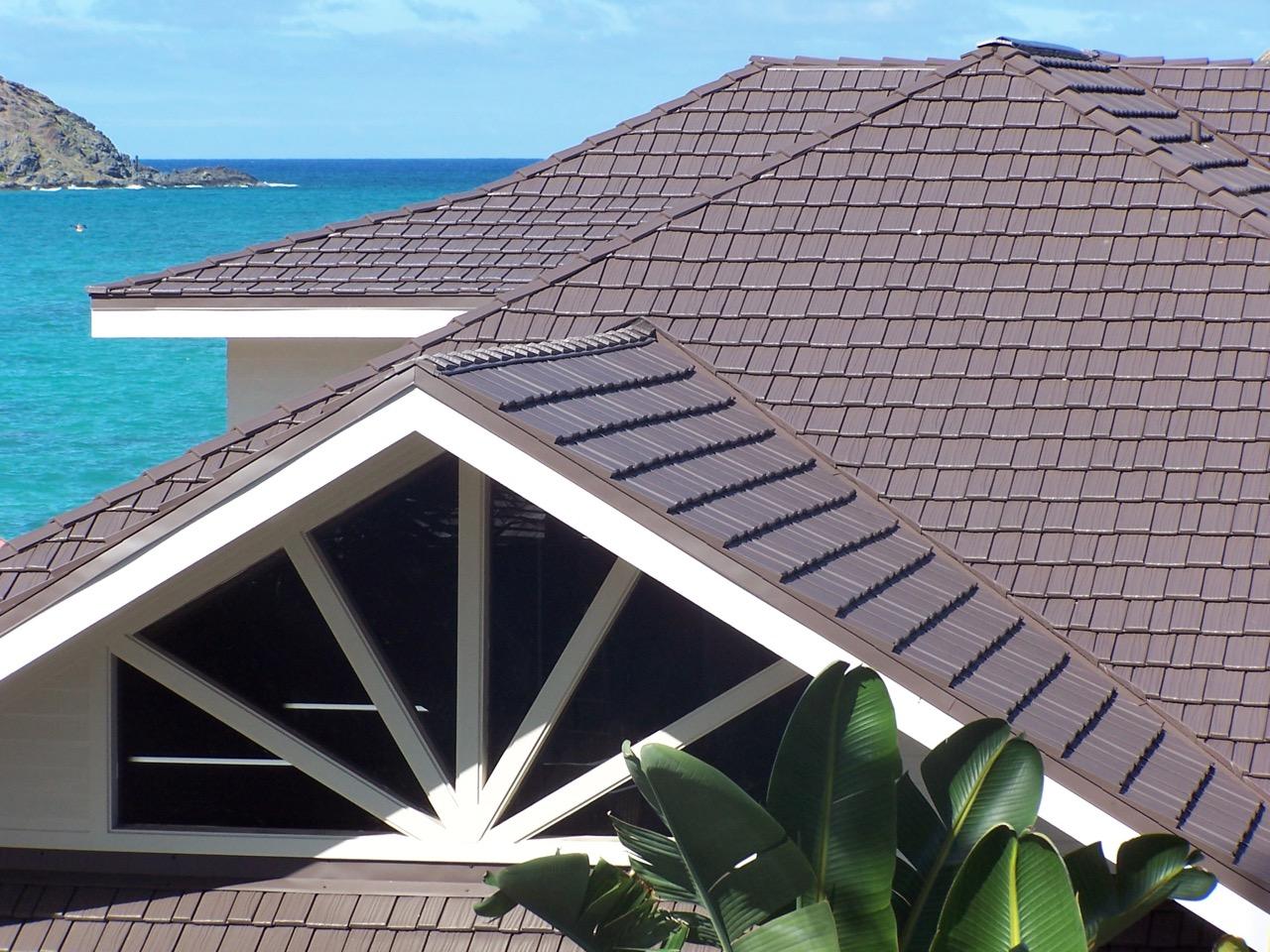Aluminum Shake Roofing