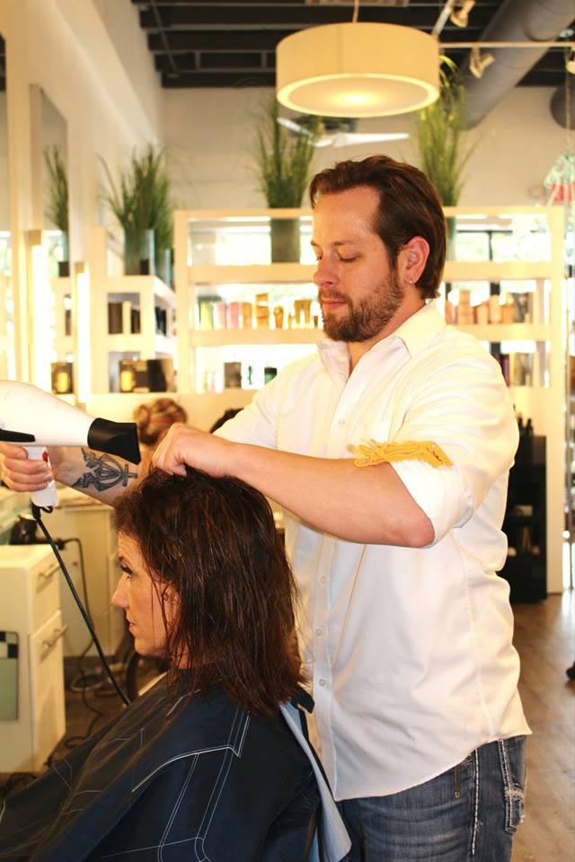 Johnny Rodriguez the Salon
