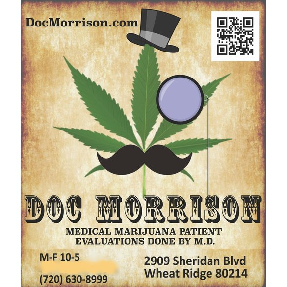Doc Morrison - Red Card Medical Marijuana Evaluations