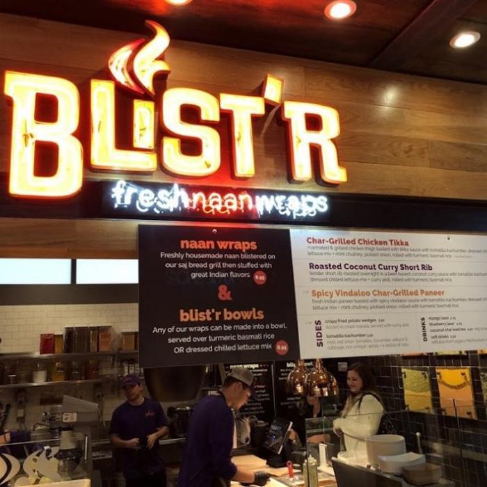 Blist'r Fresh Naan Wraps - Plano, TX