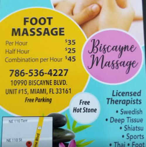 Biscayne Massage