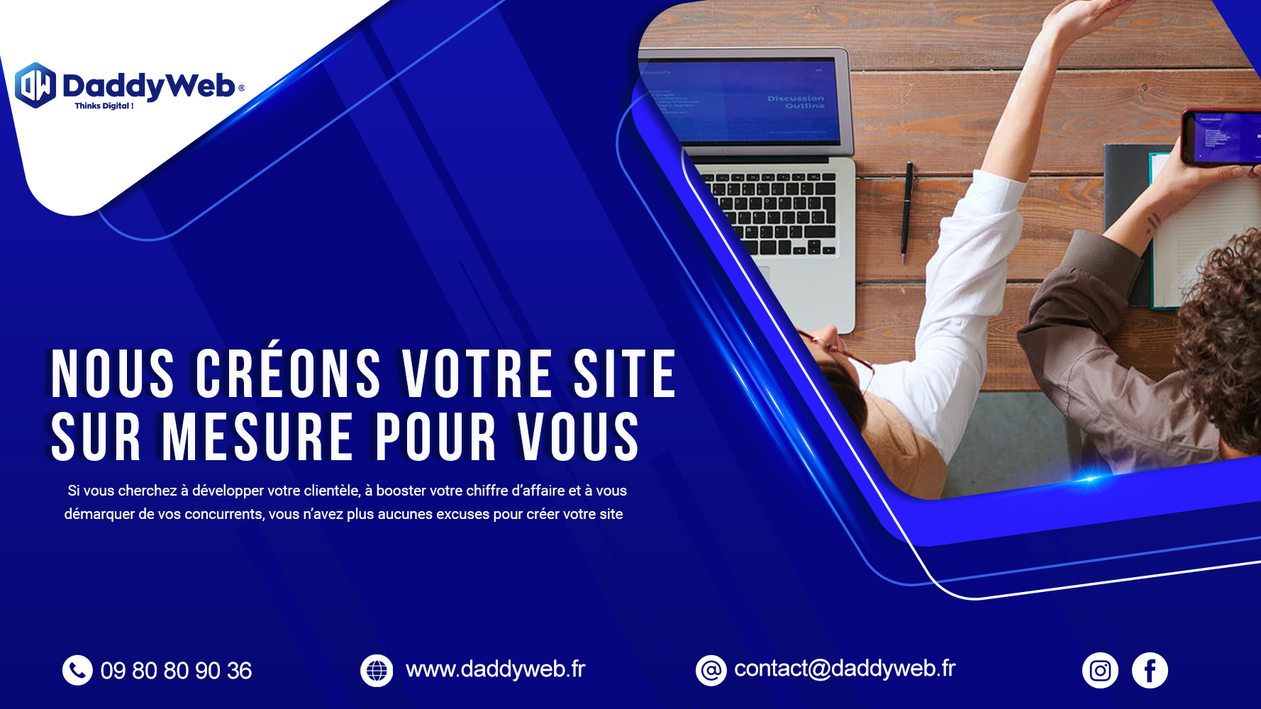 DADDYWEB Referencement local et site web pas cher