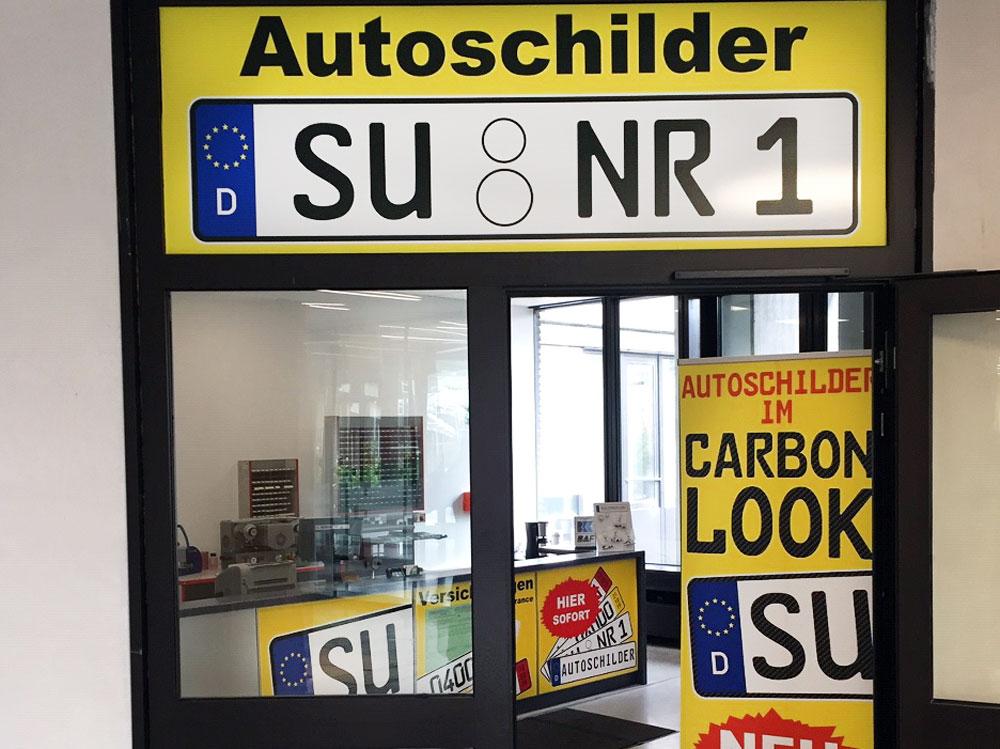 Autoschilder & Zulassungen Buffalo Siegburg
