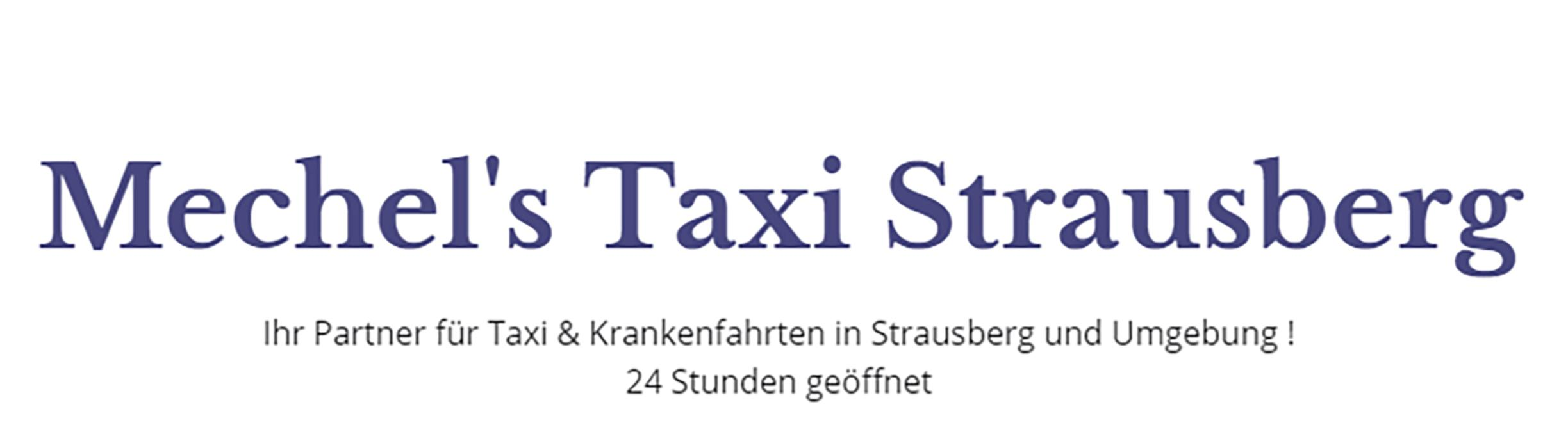 Bild zu Mechel's Taxi Strausberg - Taxiunternehmen in Strausberg