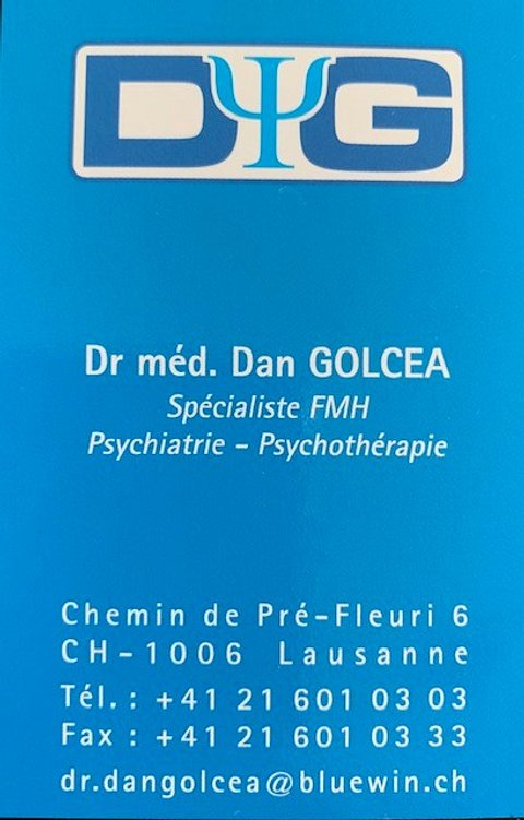 Dr méd. Dan Golcea