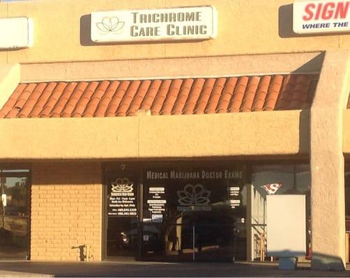 Trichrome Care Clinic Medical Marijuana Doctor Certifications