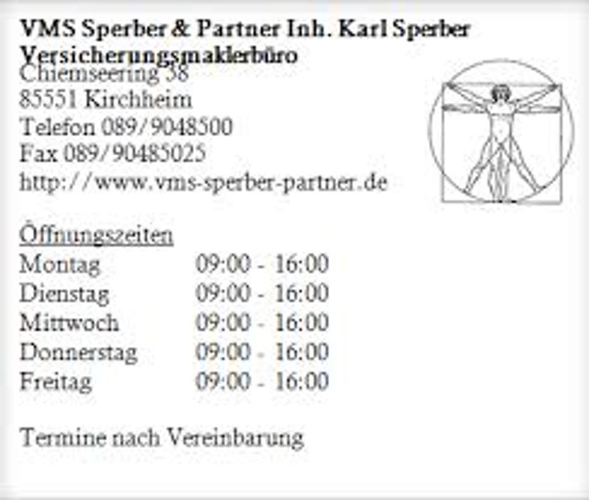 Bild zu VMS Sperber und Partner in Kirchheim bei München
