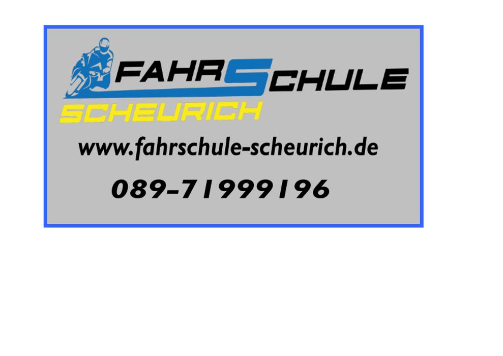 Bild zu Fahrschule Scheurich in München