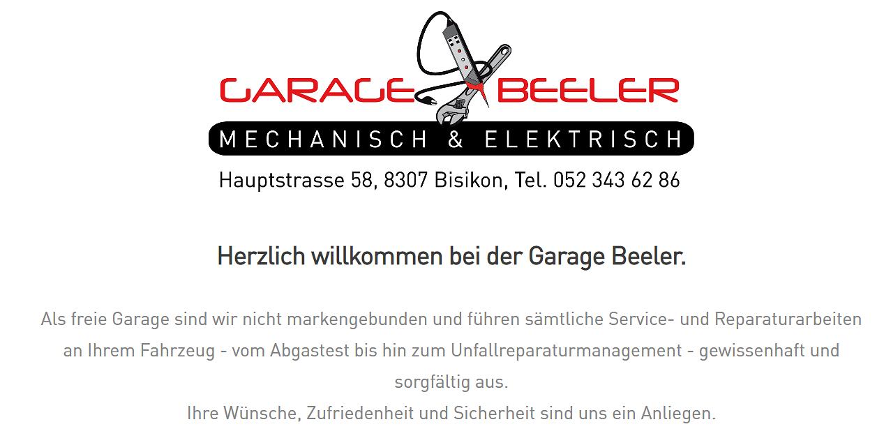 Garage Beeler