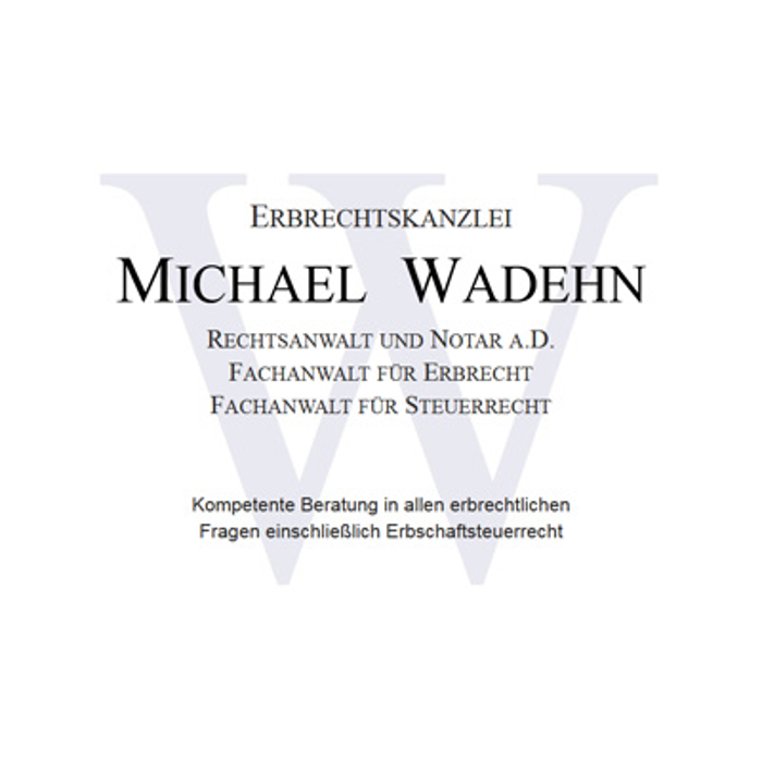 Bild zu Erbrechtskanzlei Michael Wadehn in Bielefeld