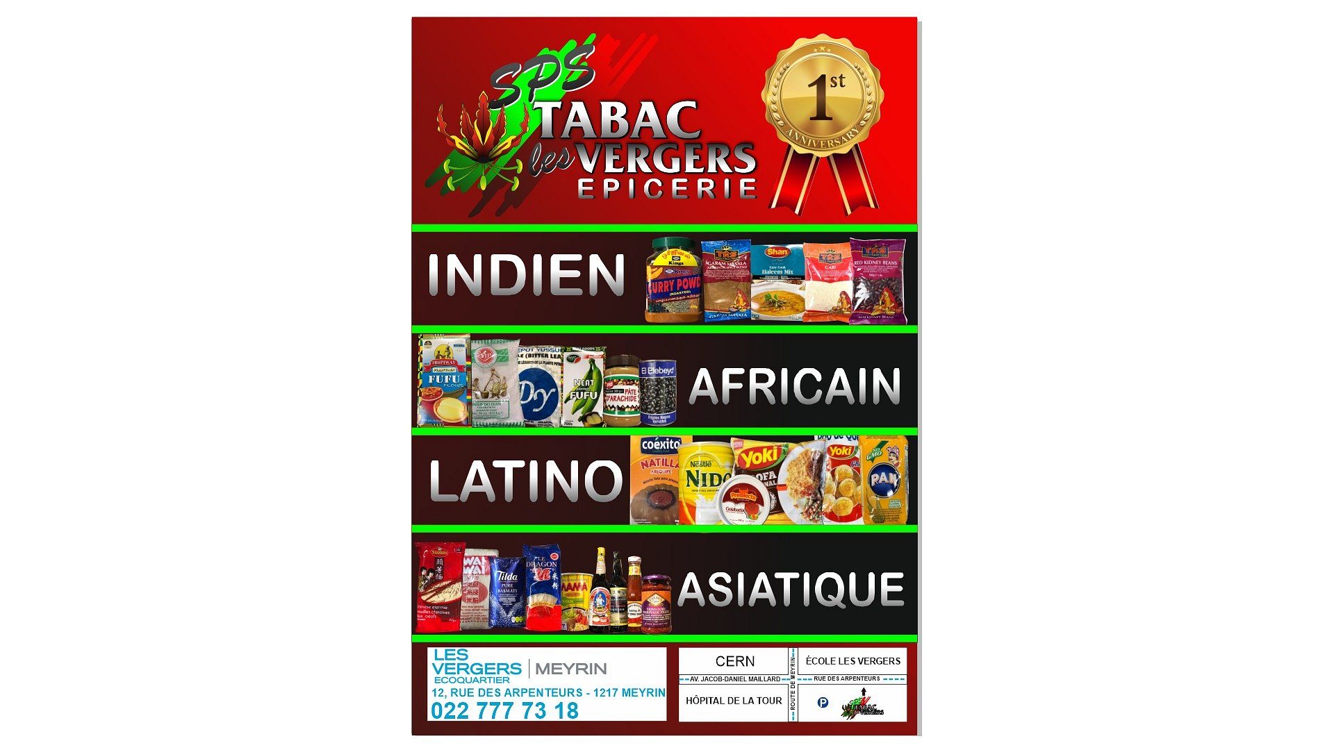 SPS - Tabac Epicerie Les Vergers