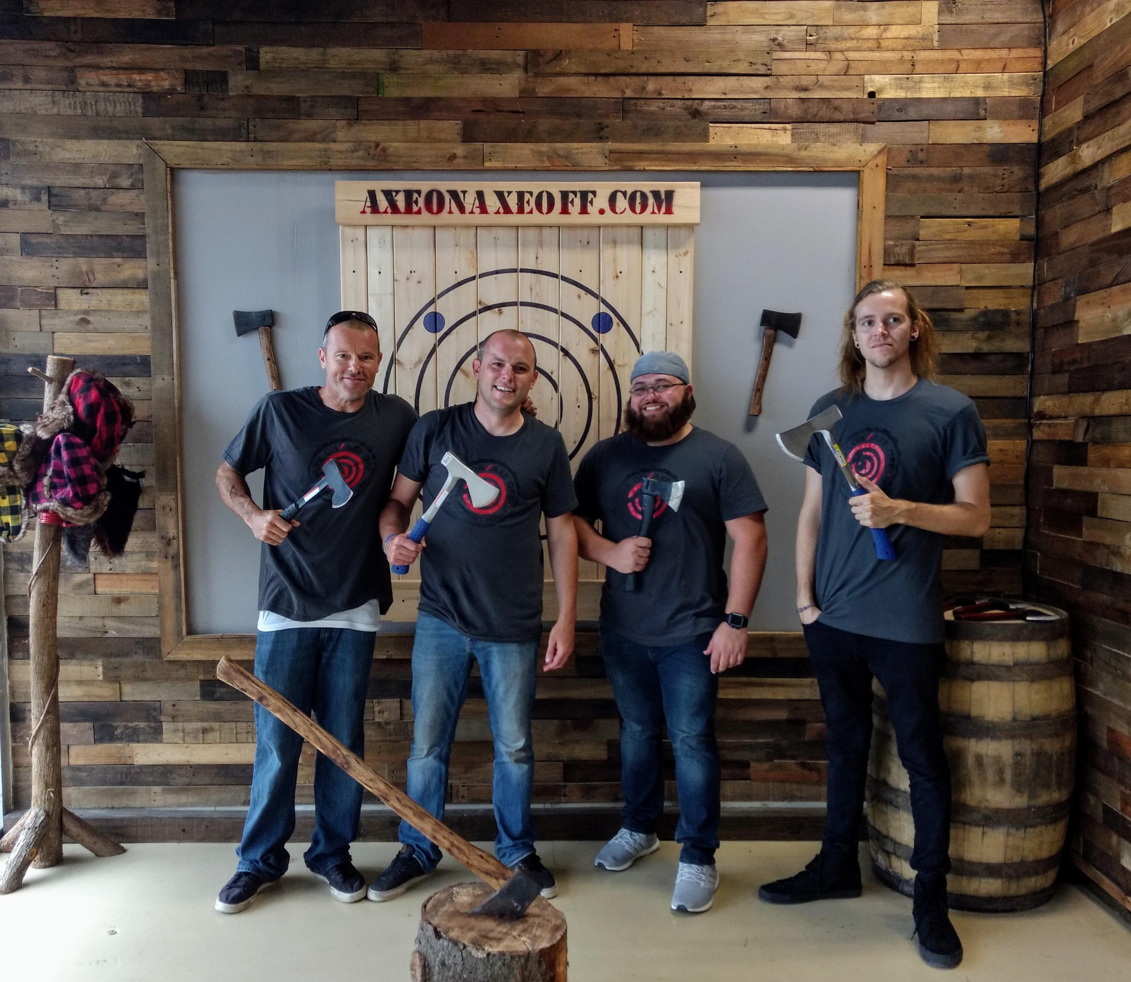 Axe On Axe Off - Axe Throwing Venue - Orlando, FL 32809 - (407)730-5034 | ShowMeLocal.com