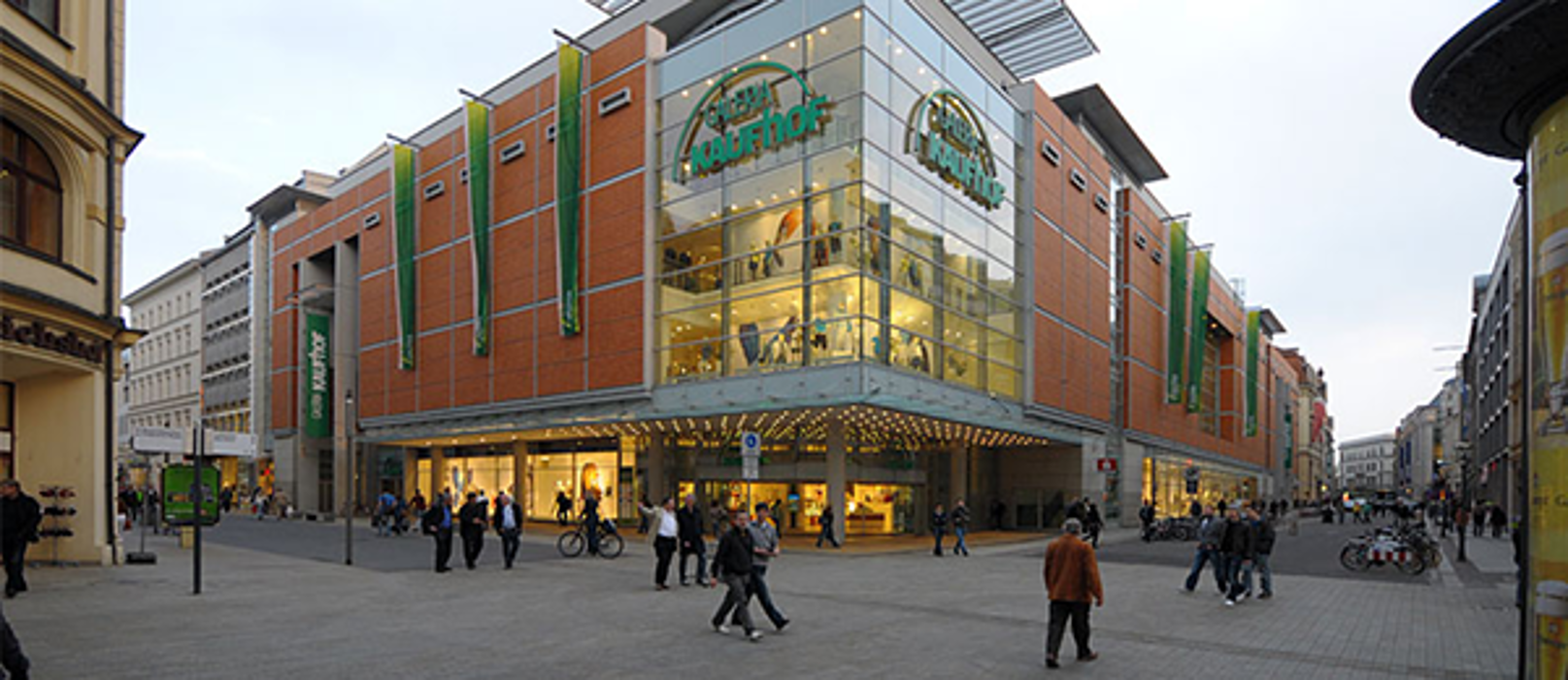 GALERIA (Kaufhof) Leipzig Neumarkt, Neumarkt in Leipzig