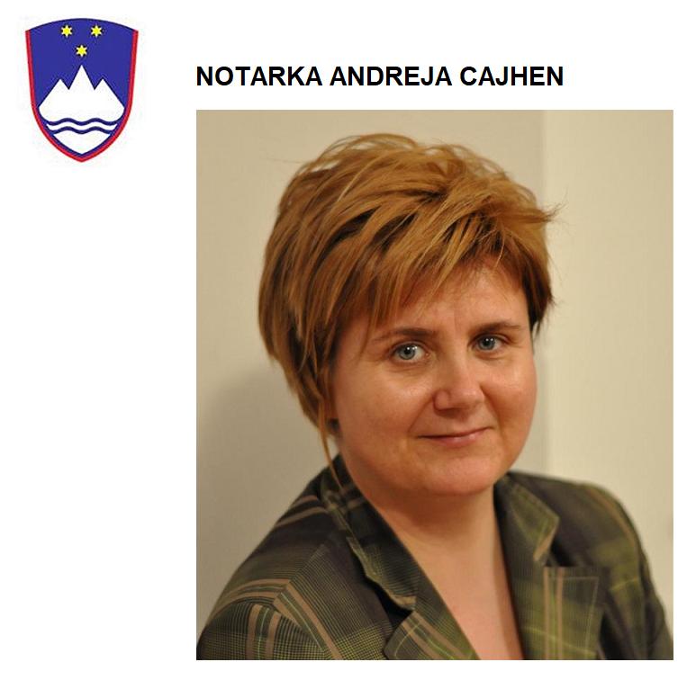 NOTARKA ANDREJA CAJHEN