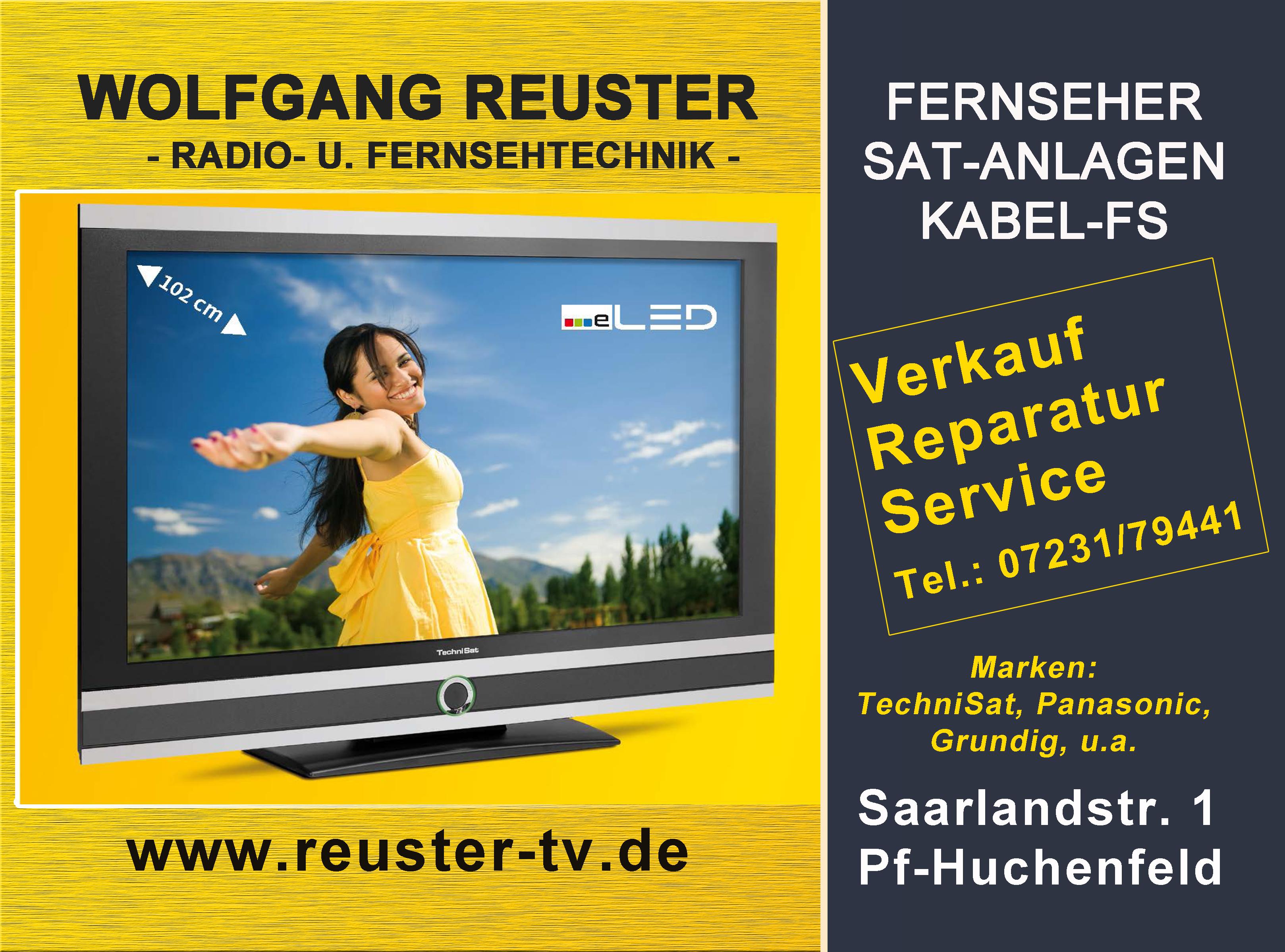 Wolfgang Reuster Radio- und Fernsehtechnik
