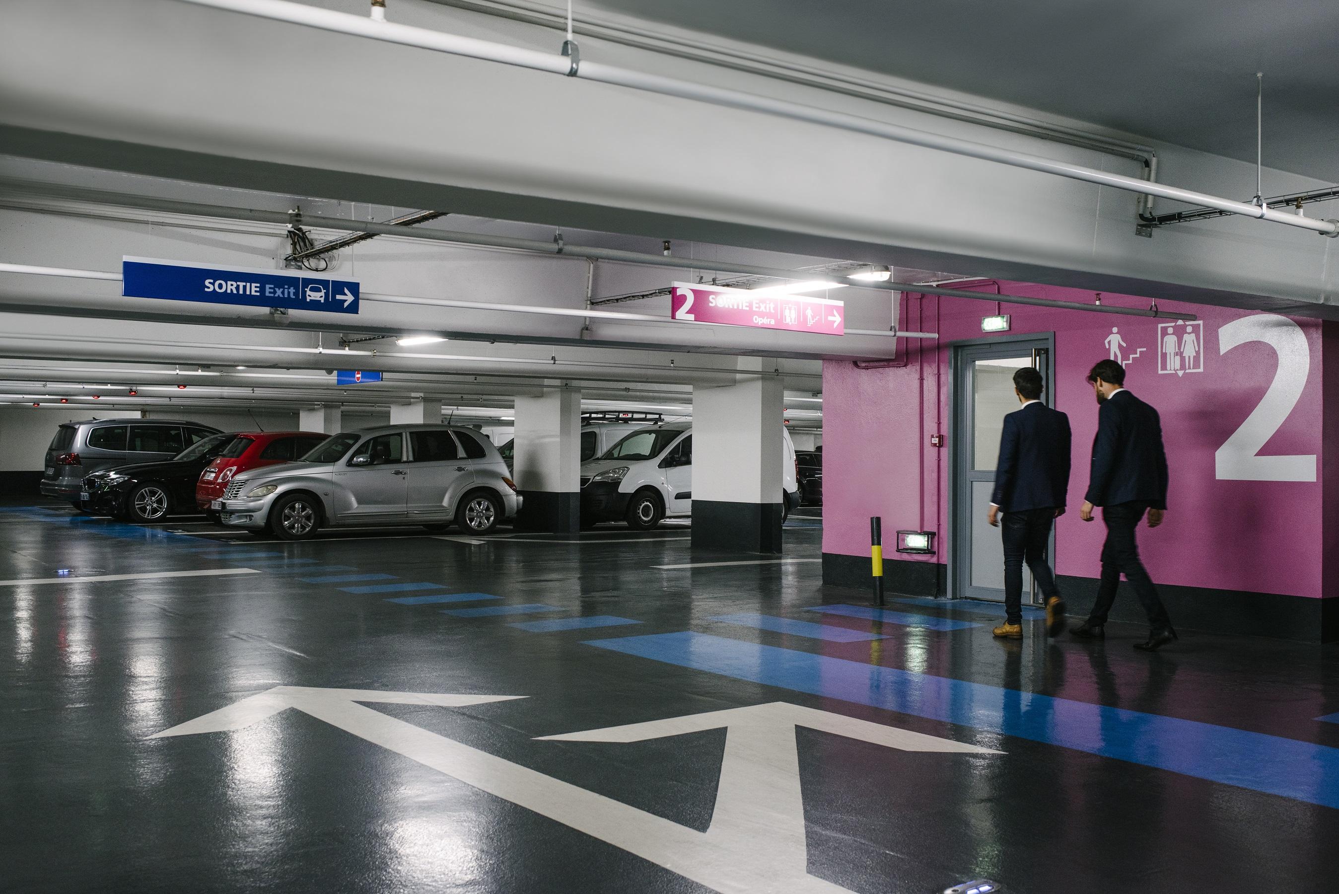 Parking Indigo Paris Haussmann Printemps