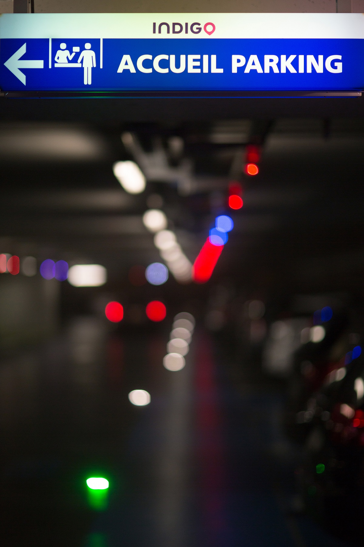 Parking Indigo Saint-Cloud Orléans
