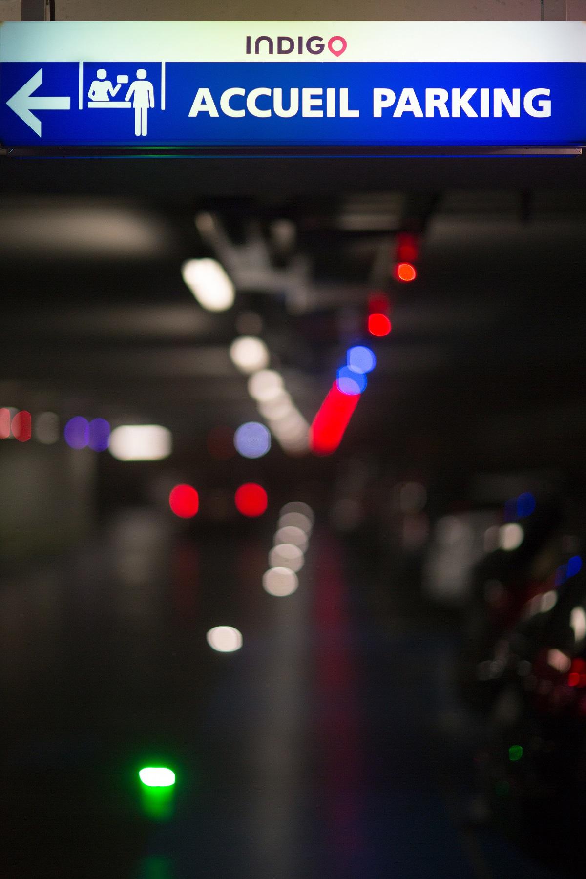 Parking Indigo Puteaux Centre Commercial Westfield les 4 Temps P1 - P2