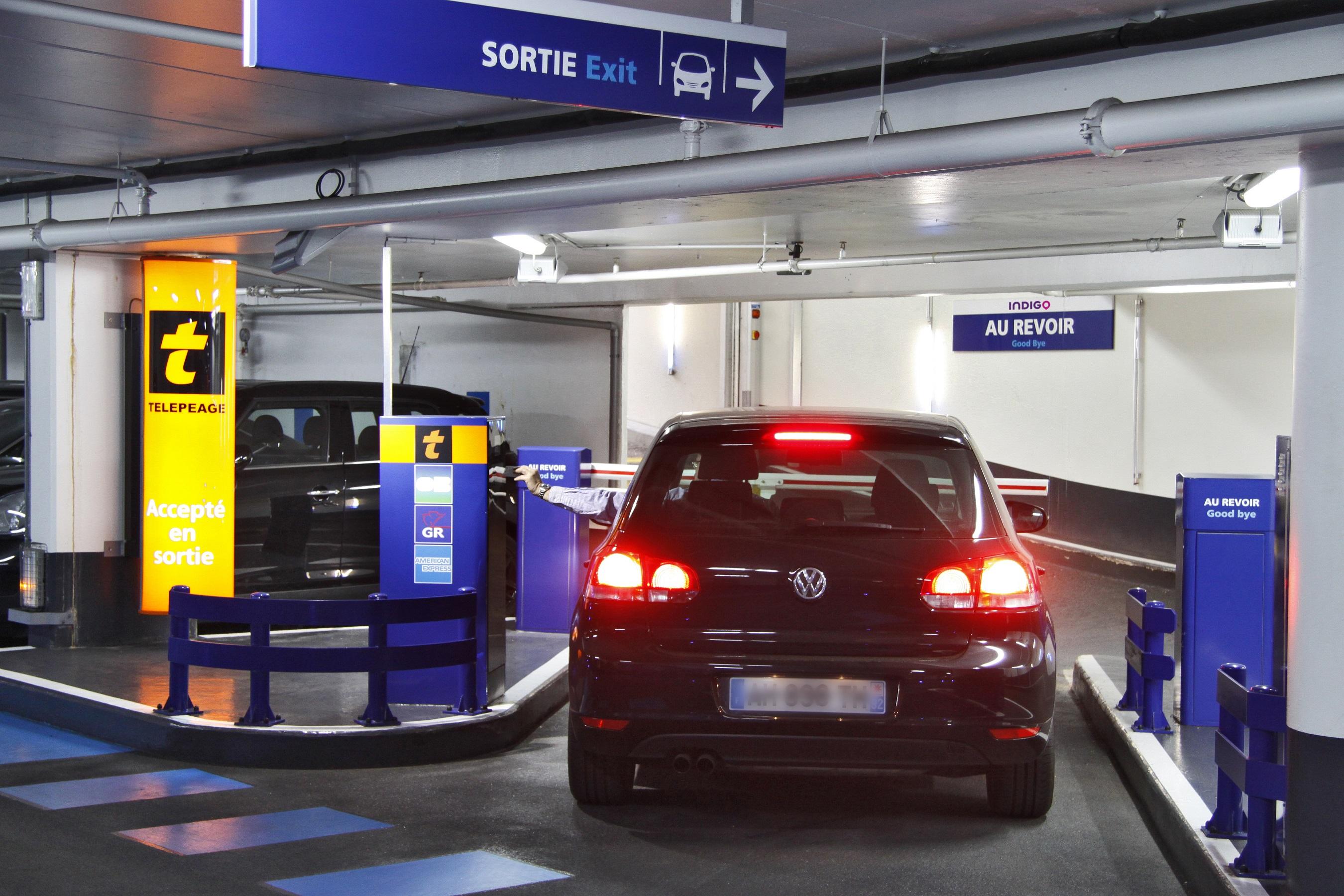 Parking Indigo Saint-Germain-En-Laye Pologne