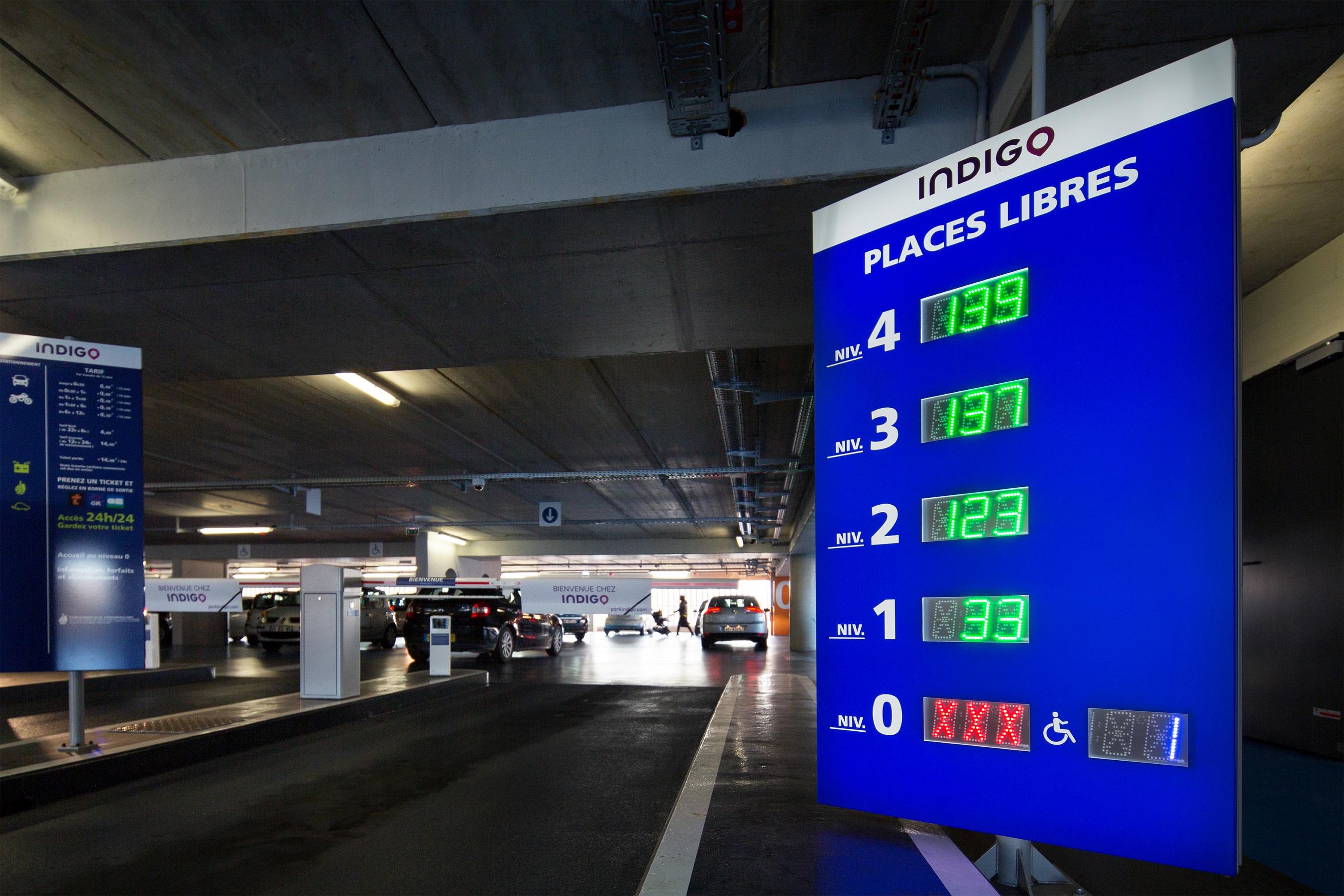 Parking Indigo Les Sables-D'Olonne Centre Ville