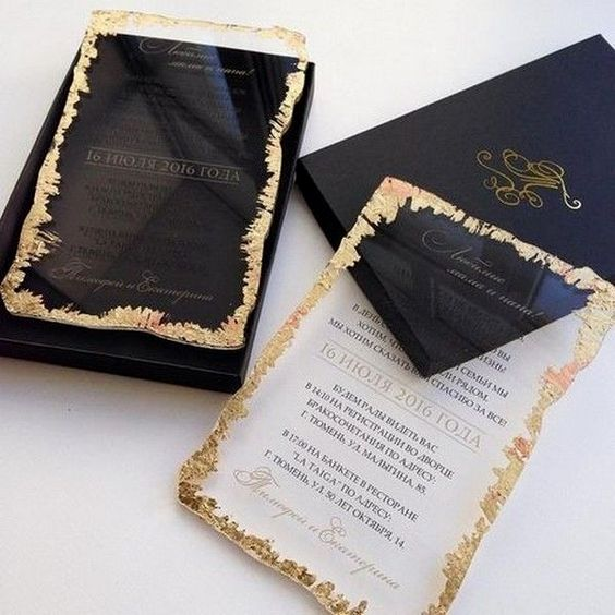 Louise Custom Wedding Invitation Cards